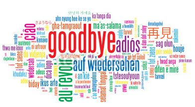 Farewell and Good Luck